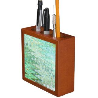 Sardinia Desk Organiser by Artist C.L. Brown