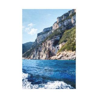 Sardinia, East Coast, near Cala Gonone Canvas Print