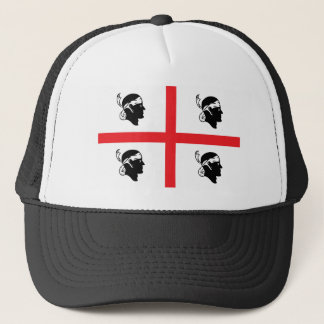 Sardinia Flag Trucker Hat