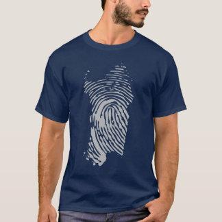Sardinia island fingerprint T-Shirt