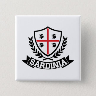 Sardinia Italia 15 Cm Square Badge