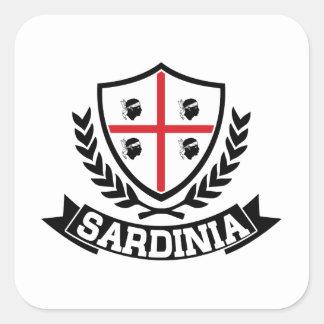 Sardinia Italia Square Sticker