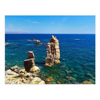 Sardinia - Le Colonne, Carloforte Postcard