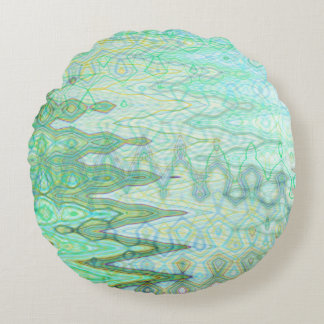 Sardinia Round Throw Pillow by C.L. Brown