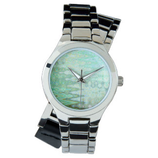 Sardinia Women's Wraparound Silver Watch