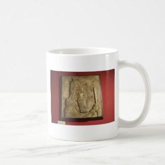 Sargon II-  Egyptian Museum.jpg Basic White Mug