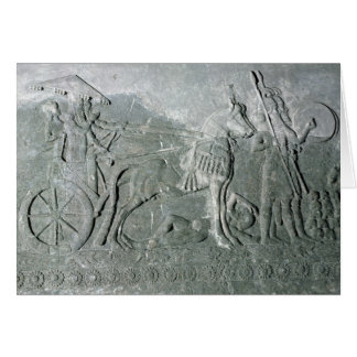 Sargon II  on a Battle Chariot Card