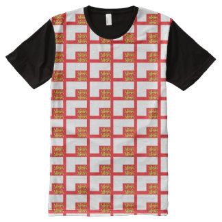 Sark Flag All-Over Print T-Shirt