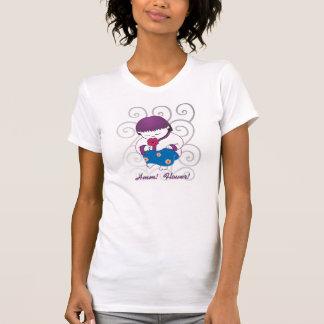 Sarong Girl -Flower Swirl- T-shirt