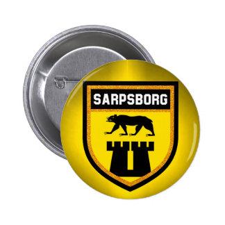 Sarpsborg Flag 6 Cm Round Badge