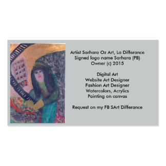SArt Oz Art , La Differance Pack Of Standard Business Cards