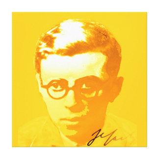 Sartre Canvas Print