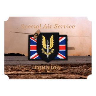 sas special air service veterans vets 13 cm x 18 cm invitation card