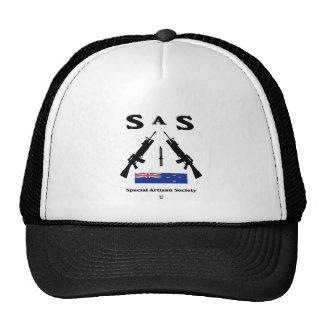 SAS SPECIAL ARTISAN SOCIETY NZ MESH HAT