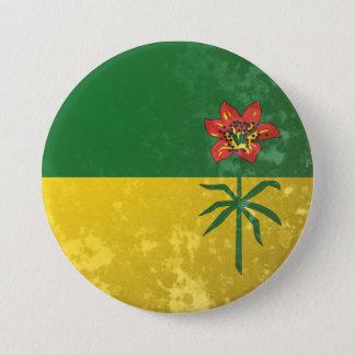 Saskatchewan 7.5 Cm Round Badge