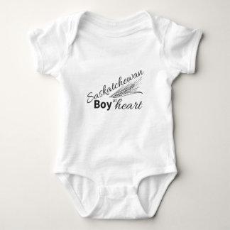Saskatchewan boy at heart baby bodysuit