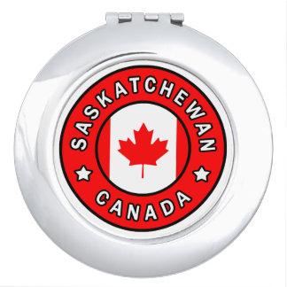 Saskatchewan Canada Compact Mirror
