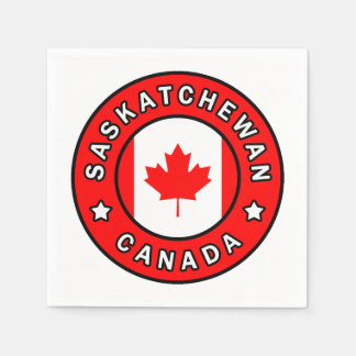 Saskatchewan Canada Disposable Serviette