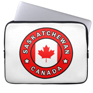 Saskatchewan Canada Laptop Sleeve
