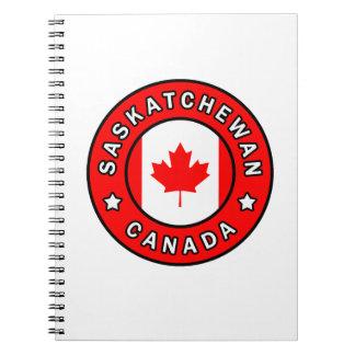 Saskatchewan Canada Notebook