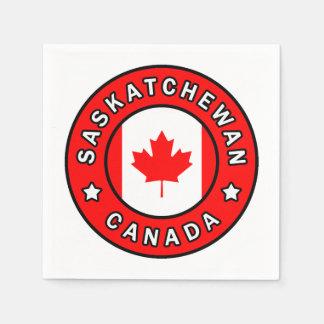 Saskatchewan Canada Paper Serviettes