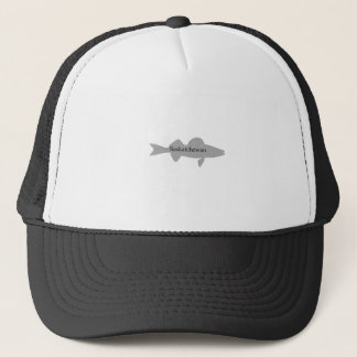 Saskatchewan Canada Walleye Trucker Hat