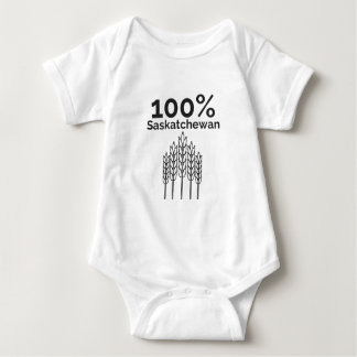 Saskatchewan Farmer Baby Bodysuit
