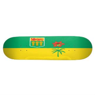 Saskatchewan Flag Skateboard