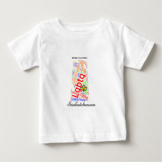 Saskatchewan Pride LGBTQ Baby T-Shirt