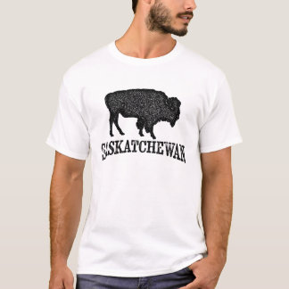 Saskatchewan T-shirt - Bison Buffalo