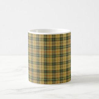 Saskatchewan tartan coffee mug
