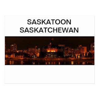 Saskatoon Saskatchewan Postcard