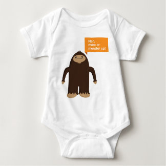 Sasquatch Baby Bodysuit