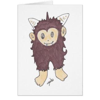 sasquatch card