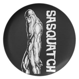 Sasquatch Dinner Plates