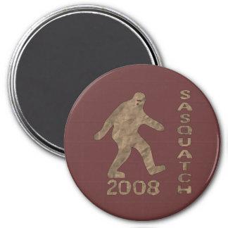 Sasquatch For President 7.5 Cm Round Magnet