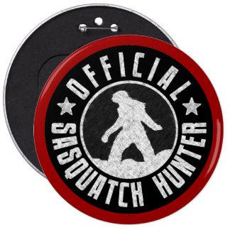 Sasquatch HUNTER Circle logo Button