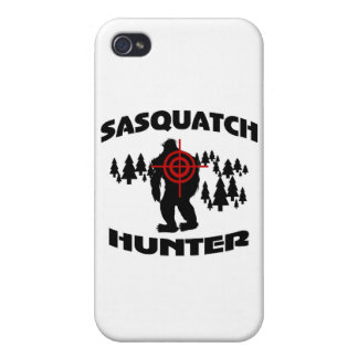Sasquatch Hunter iPhone 4/4S Case
