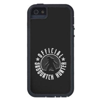 Sasquatch Hunter - Official Circle Logo iPhone 5 Cases
