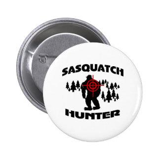 Sasquatch Hunter Pinback Buttons