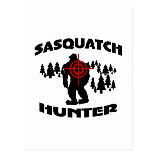 Sasquatch Hunter Postcard