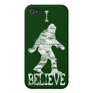 Sasquatch I Believe (distressed) iPhone 4/4S Cases