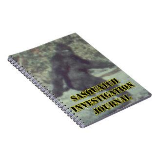 Sasquatch Investigation Journal - Bigfoot Notebook