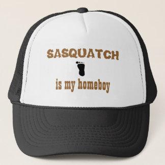 Sasquatch is my homeboy trucker hat