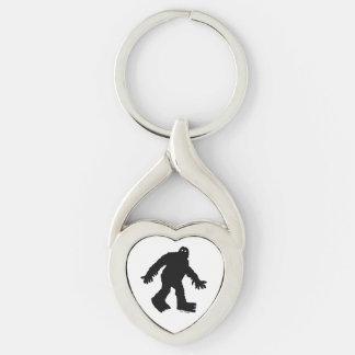 Sasquatch Key Ring