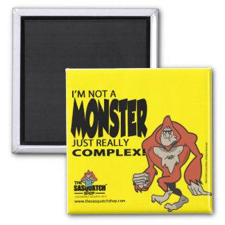 Sasquatch Monster Kitchen Magnet