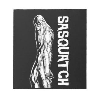 Sasquatch Notepad