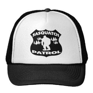 Sasquatch Patrol Forest Badge Trucker Hats