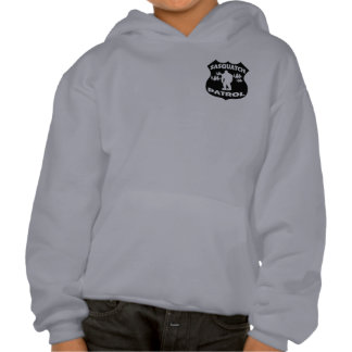 Sasquatch Patrol Forest Badge Hooded Pullovers