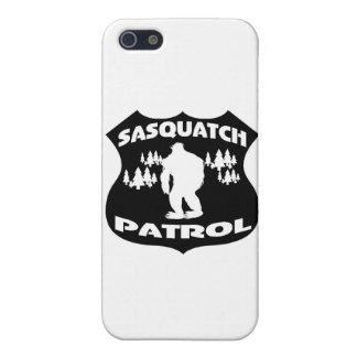 Sasquatch Patrol Forest Badge iPhone 5 Cases